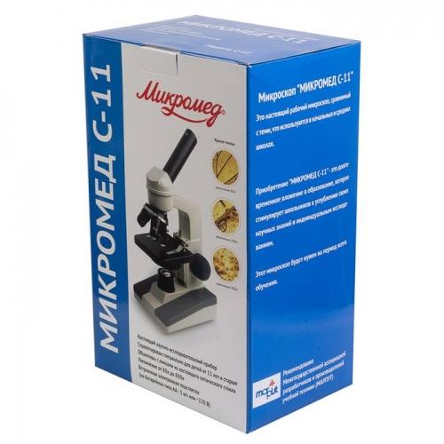 """Микроскоп для преподавателя """"Микромед C-11"""" (c подсветкой)"""