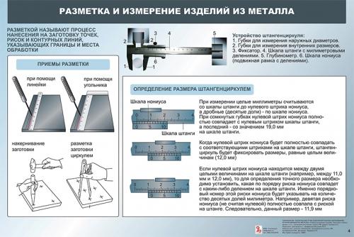 """Четвертый комплект таблиц """"Технология. Ручная обработка металла. 5-11 (12) классы"""" (20 таблиц, формат А1, лам.)"""