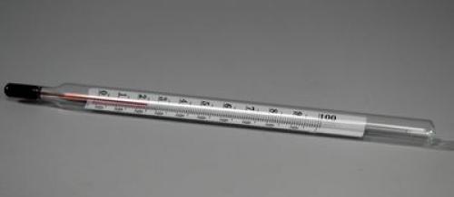Термометр лабораторный от -10 до 110 °C