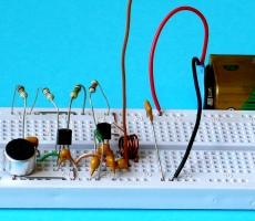 Комплект  «Радиоконструктор  -  передатчик»