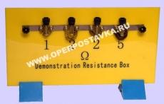 Магазин резисторов на панели (набор)