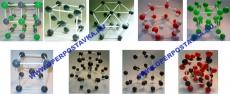 Набор моделей кристаллических решеток (из 9 штук)