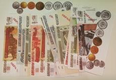Набор денежных знаков (раздаточный)