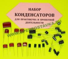 Набор конденсаторов для практикума и проектной деятельности