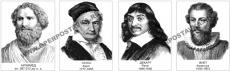 Портреты математиков (22 штуки, формат 30х40 см, ламинириванные)