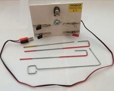 Прибор для опытов по химии с электрическим током демонстрационный