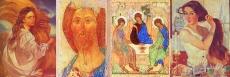 """Комплект таблиц """"Репродукции картин российских художников"""" (20 таблиц, формат А2, лам.)"""