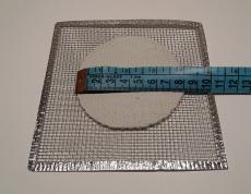 Сетка асбестовая 12х12 см, 15х15см, 20х20см