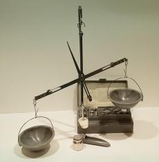 Весы для сыпучих материалов с гирями
