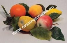 """Ветка муляжей """"Ассорти"""" (фрукты)"""
