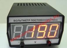 Вольтметр с гальванометром цифровой демонстрационный
