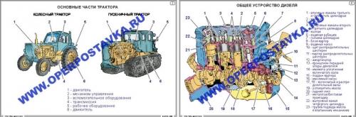 """Фолии """"Тракторы. Двигатели"""""""
